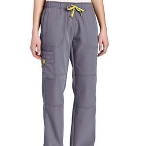 WonderWink 4-Stretch PEWTER Medium Scrubs Pant/Top